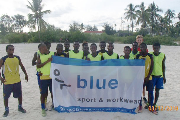 Blue Sport & Workwear in Zanzibar